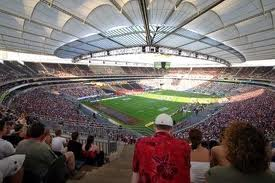Vista interna del estadio Ciudad de la Plata
