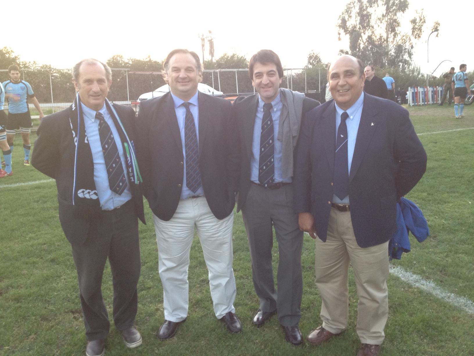 Gustavo Zerbino, Marcelo Calandra, Pablo Ferrari y Antonio Vizintín