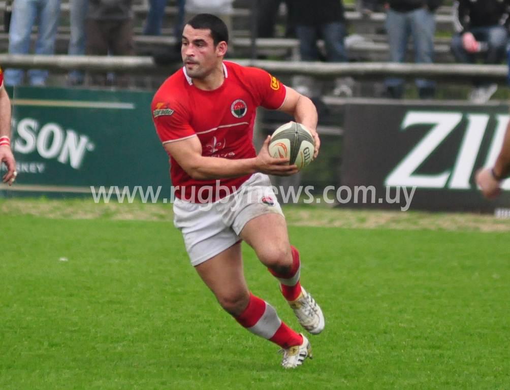 Alberto Roman, al rugby italiano (Foto Victoria Acuña)