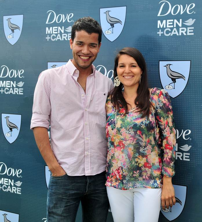 Martin Barreiro, Responsable de Marketing Dove Men y Stephanie Estevez. Jefe de Marketing Unilever