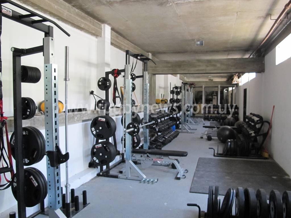 El gimnasio actual