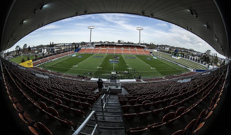 El estadio de Hamilton, donde mañana se enfrentan NZ-ARG. Foto Prensa UAR