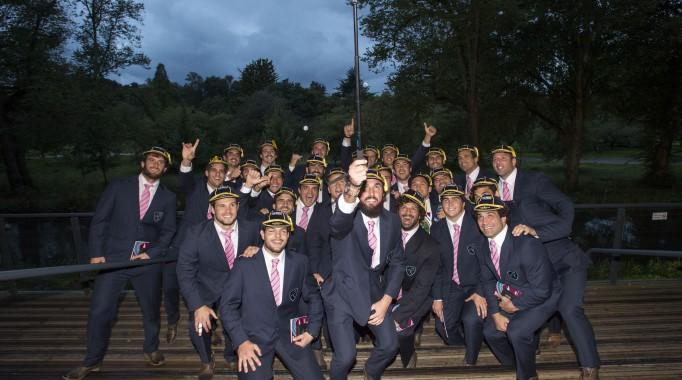 RWC 2015 Welcome Ceremony - Uruguay