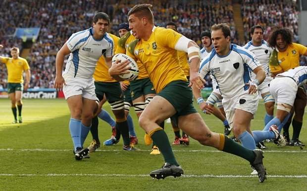 Australia v Uruguay - IRB Rugby World Cup 2015 Pool A